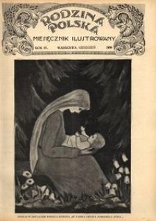 Rodzina Polska : miesięcznik ilustrowany, 1930, R.4, Nr 12 - grudzień