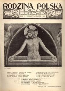 Rodzina Polska : miesięcznik ilustrowany, 1931, R.5, Nr 3 - marzec