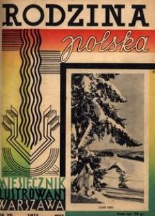 Rodzina Polska : miesięcznik ilustrowany, 1938, R.12, Nr 2 - luty