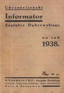 Chrześcijański Informator Zagłębia Dąbrowskiego na rok 1938