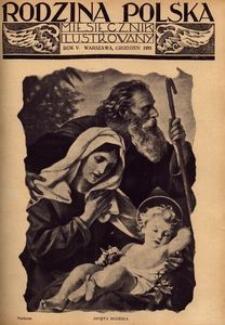 Rodzina Polska : miesięcznik ilustrowany, 1931, R.5, Nr 12 -grudzień