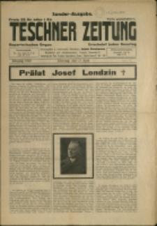 Teschner Zeitung, 1929, (wyd. spec.), Nr 17