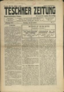 Teschner Zeitung, 1933, Nry 5-8, 10-18, 20-24, 26-31, 33-40, 42, 45, 47-48, 51