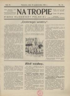 Na Tropie, 1931, R. 4, nr 14