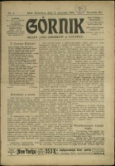 Górnik, 1908, Nry 1-41