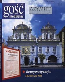 Gość Niedzielny, 2001, R. 74, nr5