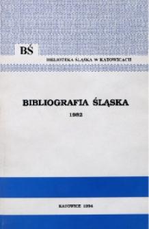 Bibliografia Śląska 1982