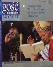 Gość Niedzielny, 2001, R. 78, nr40