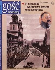 Gość Niedzielny, 2001, R. 74, nr45