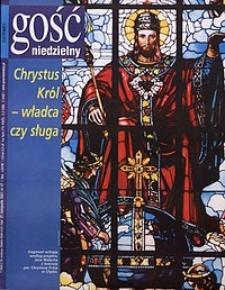 Gość Niedzielny, 2001, R. 78, nr47