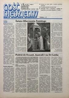 Gość Niedzielny, 1995, R. 72, nr5