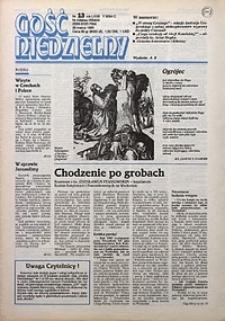 Gość Niedzielny, 1995, R. 68, nr13