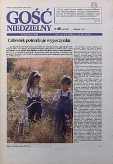 Gość Niedzielny, 1996, R. 69, nr25