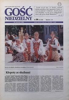 Gość Niedzielny, 1996, R. 69, nr26