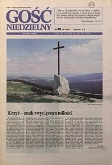 Gość Niedzielny, 1996, R. 69, nr30
