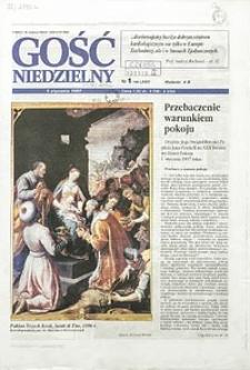 Gość Niedzielny, 1997, R. 70, nr1