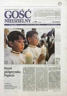 Gość Niedzielny, 1997, R. 74, nr19