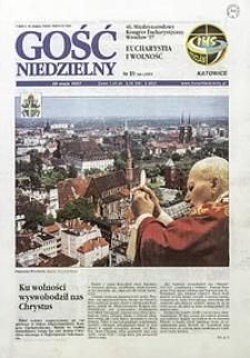 Gość Niedzielny, 1997, R. 70, nr21