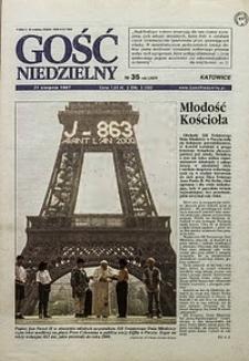 Gość Niedzielny, 1997, R. 70, nr35