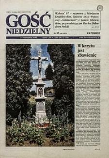 Gość Niedzielny, 1997, R. 74, nr37