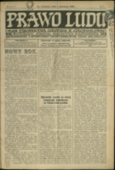 Prawo Ludu, 1932, Nry 1-52