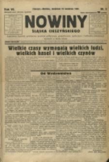 Nowiny Śląska Cieszyńskiego, 1936, Nry 5-74, 76-80