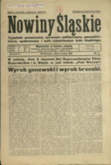 Nowiny Śląskie, 1932, Nry 6, 9-10, 18-25, 27-29, 44