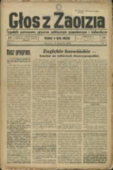 Głos z Zaolzia, 1939, Nry 1-11, 13, 16-18, 20, 26, 28, 31
