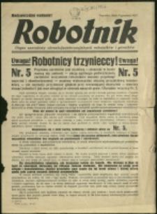 Robotnik : organ zawodowy chrześcijańsko-socjalnych robotników i górników, 1937, Nr nadzw. z dn. 11.12
