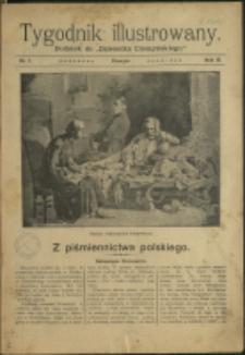 """Tygodnik Ilustrowany : dodatek do """"Dziennika Cieszyńskiego"""", 1909, Nry 1-3, 5-35"""