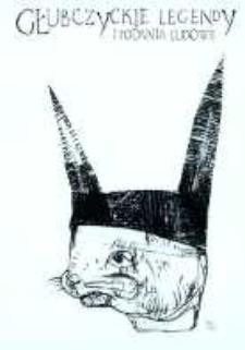 """Zaproszenie na promocję książki dr Katarzyny Maler pt. """"Głubczyckie legendy i podania ludowe : wodniki, błędne ogniki, strzygi, czarownice i diabły...""""."""