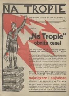 Na Tropie, 1934, R. 7, nr 1