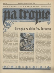 Na Tropie, 1934, R. 7, nr 7