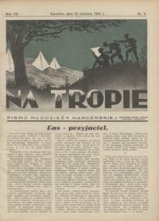 Na Tropie, 1934, R. 7, nr 8