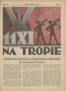 Na Tropie, 1934, R. 7, nr 17