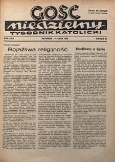 Gość Niedzielny, 1949, R. 22, nr31