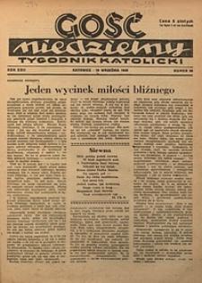 Gość Niedzielny, 1949, R. 22, nr38