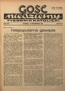 Gość Niedzielny, 1949, R. 22, nr43