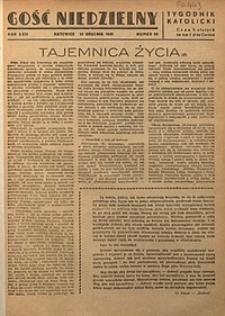 Gość Niedzielny, 1949, R. 22, nr50