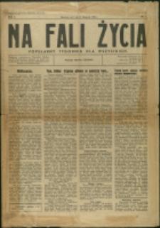 Na Fali Życia, 1934, Nr 1