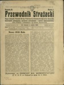 Przewodnik Strażacki : organ Związku Polskich Straży Pożarnych w Czechosłowacji w Cz. Cieszynie, 1935, Nry 1-5