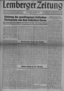 Lemberger Zeitung, Jhg. 4 1942, Folge 85