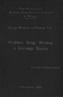 Problem drogi wodnej z Górnego Śląska