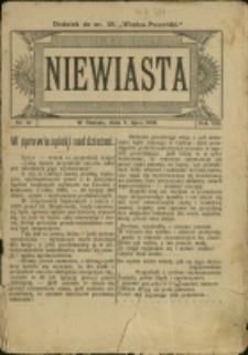 """Niewiasta : [dod. do """"Wieńca-Pszczółki""""], 1908, Nr 10"""