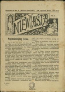 """Niewiasta : [dod. do """"Wieńca-Pszczółki""""], 1913, Nry 1-10"""