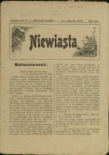 """Niewiasta : [dod. do """"Wieńca-Pszczółki""""], 1914, Nry [1], 3, 12[!]"""