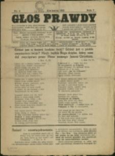 Głos Prawdy, 1925, Nr 4
