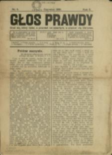 Głos Prawdy, 1929, Nry 6, 9/10, 12