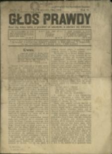 Głos Prawdy , 1931, Nry 4/5, 7