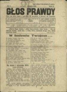 Głos Prawdy, 1933, Nry 1, 7-9, 11/12